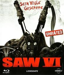 Saw 6 (Unrated) (2009) [FSK 18] [Blu-ray]