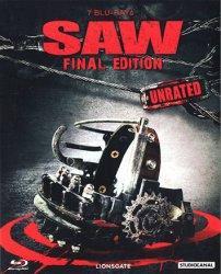 Saw 1-7 (Limited Final Edition, Uncut) (8 Discs) [FSK 18] [Blu-ray]