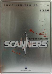 Scanners 1-3 Collection (Lim. Metalpak - Uncut) (3 DVDs) [FSK 18] [Gebraucht - Zustand (Sehr Gut)]
