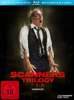 Scanners 1-3 (3-Disc Collector's Edition, Uncut) [FSK 18] [Blu-ray]