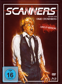 Scanners (Limited Digipak, DVD+Blu-ray, Uncut) (1981) [Blu-ray]