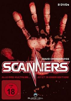 Scanners 1-3 Edition (3 DVDs) [FSK 18]