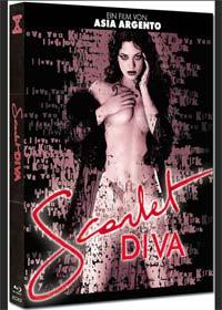 Scarlet Diva (Limited Mediabook, Blu-ray+DVD, Cover A) (2000) [FSK 18] [Blu-ray]