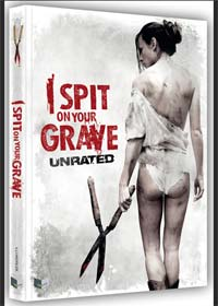 I Spit on your Grave (Limited Uncut Mediabook, Blu-ray+DVD, Cover B) (2010) [FSK 18] [Blu-ray]