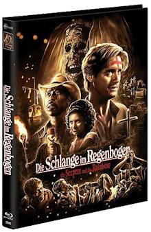 Die Schlange im Regenbogen (Limited Uncut Mediabook, Blu-ray+DVD) (1988) [FSK 18] [Blu-ray] [Gebraucht - Zustand (Sehr Gut)]