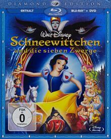 Schneewittchen & die 7 Zwerge - Diamond Edition (2 Blu-ray Disc+DVD) (1937) [Blu-ray]