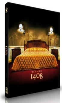 Zimmer 1408 (4 Disc Limited Mediabook, Cover B) (2007) [Blu-ray]
