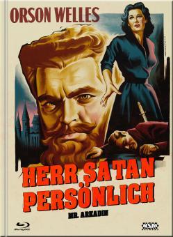 Herr Satan persönlich (Mr. Arkadin) (Limited Mediabook, Blu-ray+DVD, Cover C) (1955) [Blu-ray]