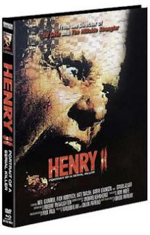 Henry 2 - Portrait of a Serial Killer (Limited Mediabook, Blu-ray+DVD, Cover C) (1996) [FSK 18] [Blu-ray]