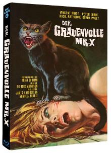 Der grauenvolle Mr. X - Schwarze Geschichten (Limited Mediabook, Cover B) (1962) [Blu-ray]