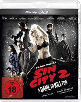 Sin City 2 - A Dame to kill for (2014) [FSK 18] [3D Blu-ray]