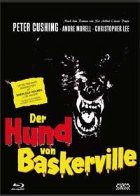 Der Hund von Baskerville (3 Disc Limited Mediabook, Blu-ray+DVD+CD, Cover B) (1959) [Blu-ray]