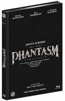 Phantasm (3 Disc Limited Mediabook, Blu-ray+2 DVDs, Cover B) (1979) [FSK 18] [Blu-ray]