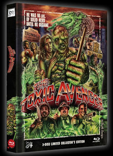 The Toxic Avenger (3 Disc Limited Mediabook, Blu-ray+2 DVDs) (1984) [FSK 18] [Blu-ray]