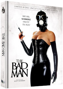 The Bad Man (4 Disc Limited Uncut Mediabook, Blu-ray+2 DVDs+CD, Cover C) (2018) [FSK 18] [Blu-ray]