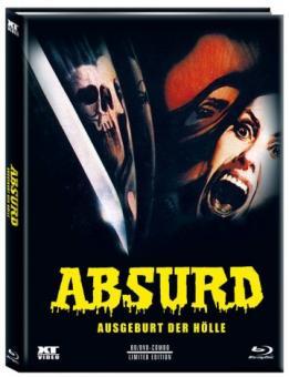 Absurd (Limited Mediabook, Blu-ray+DVD, Cover C) (1981) [FSK 18] [Blu-ray]