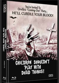 Children Shouldn't Play with Dead Things (Limited Mediabook, Blu-ray+DVD, Cover E) (1972) [FSK 18] [Blu-ray]