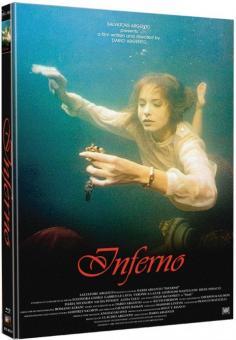Horror Infernal (Inferno) (3 Disc Mediabook, Blu-ray+2 DVDs, Cover D) (1980) [FSK 18] [Blu-ray]