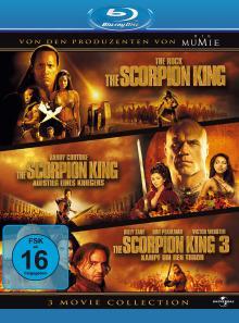 The Scorpion King 1-3 (3 Discs) [Blu-ray] [Gebraucht - Zustand (Sehr Gut)]