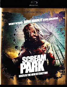 Scream Park (Limited Gold Edition, Uncut) (2012) [FSK 18] [Blu-ray]