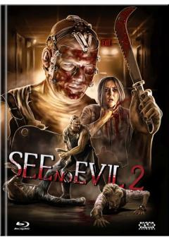 See No Evil 2 (Limited Mediabook, Blu-ray+DVD, Cover C) (2014) [FSK 18] [Blu-ray]