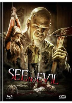 See No Evil (Limited Uncut Mediabook, Blu-ray+DVD, Cover C) (2006) [FSK 18] [Blu-ray]