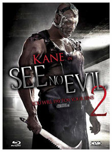 See No Evil 2 (Limited Mediabook, Blu-ray+DVD, Cover A) (2014) [FSK 18] [Blu-ray]
