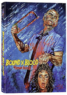 Bound X Blood: The Orphan Killer 2 (Limited Mediabook, Blu-ray+DVD, Cover B) (2015) [FSK 18] [Blu-ray]