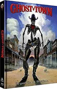 Ghost Town  (Limited Mediabook, Blu-ray+DVD, Cover B) (1988) [Blu-ray]