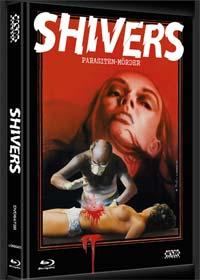 Shivers - Der Parasitenmörder (Limited Mediabook, Blu-ray+DVD, Cover B) (1975)