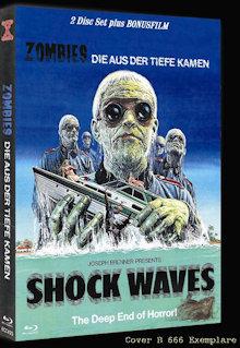 Zombies die aus der Tiefe kamen (Shock Waves) (Limited Mediabook, Blu-ray+DVD, Cover B) (1977) [FSK 18] [Blu-ray]