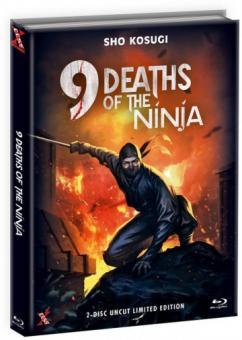 Die 9 Leben der Ninja (Limited Mediabook, Blu-ray+DVD, Cover C) (1985) [FSK 18] [Blu-ray]