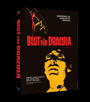 Blut für Dracula (Limited Mediabook, Cover A) (1966) [Blu-ray]