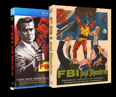 FBI jagt Phantom (im Schuber) (1965) [Blu-ray]