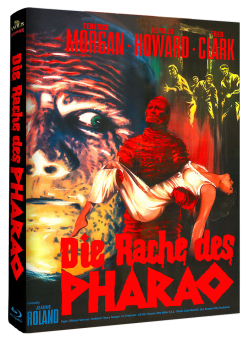 Die Rache des Pharao (Limited Mediabook, Cover A) (1964) [Blu-ray]