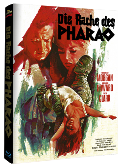 Die Rache des Pharao (Limited Mediabook, Cover B) (1964) [Blu-ray]
