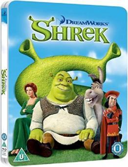 Shrek - Der tollkühne Held (Limited Steelbook) (2001) [UK Import mit dt. Ton] [Blu-ray]