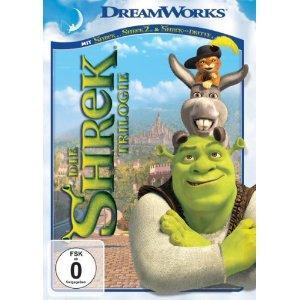 Die Shrek Trilogie (3 DVDs)