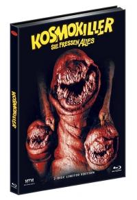 Kosmokiller - Sie fressen alles (Deadly Spawn) (Limited Mediabook, Blu-ray+DVD, Cover D) (1983) [FSK 18] [Blu-ray]