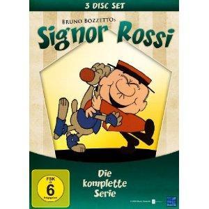 Signor Rossi - Herr Rossi sucht das Glück (3 DVDs, Die komplette Serie)