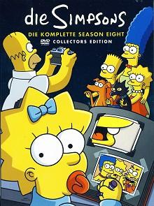 Die Simpsons - Die komplette Season 8 (4 DVDs)