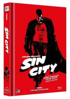 Sin City (Limited Mediabook, 2 Discs, Cover B) (2005) [FSK 18] [Blu-ray]