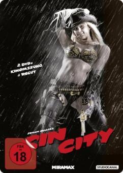 Sin City - Steelbook (Kinofassung + Recut) (2005) [FSK 18]