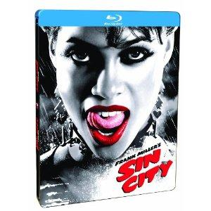 Sin City (Special Edition Steelbook, 2 Discs) (2005) [FSK 18] [CA Import] [Blu-ray]