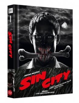 Sin City (Limited Wattiertes Mediabook, Blu-ray+DVD) (2005) [FSK 18] [Blu-ray]