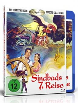 Sindbads 7. Reise (The 7th Voyage of Sinbad) (1958) [Blu-ray]