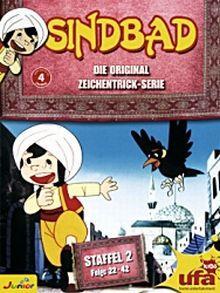 Sindbad - Die Original Zeichentrick-Serie, Staffel 2, Folge 22-42 (3 DVDs)