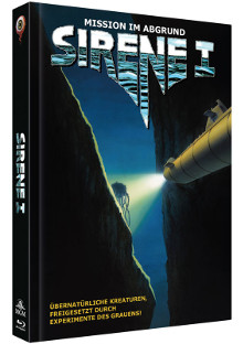 Sirene 1 - Mission im Abgrund (Limited Mediabook, Blu-ray+DVD, Cover A) (1990) [Blu-ray]
