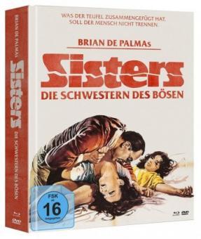 Sisters - Schwestern des Bösen (Limited Mediabook, Blu-ray+2 DVDs) (1973) [Blu-ray]