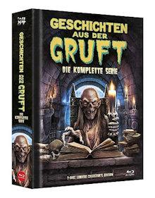 Geschichten aus der Gruft - Die komplette Serie (7 Disc Limited Mediabook, Cover B) [FSK 18] [Blu-ray]